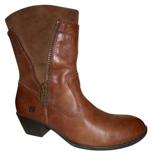 Børn Leather Born Born brown Boots