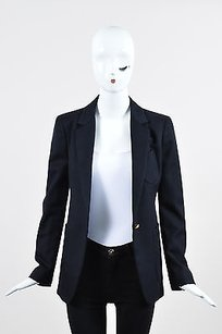 Boy. by Band of Outsiders Boy. By Band Of Outsiders Navy Blue Wool Blazer Jacket 1