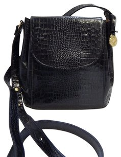 Brahmin Croc Alligator Cross Body Bag