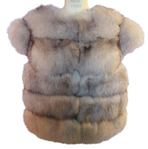 Brand New Michele Collection Fur Factory Vest