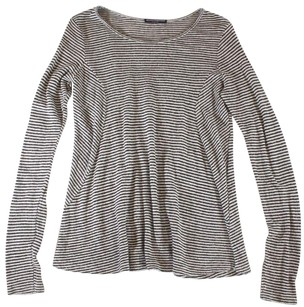 Brandy Melville Os Striped Ss Sweater