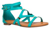 Breckelle's Green Sandals