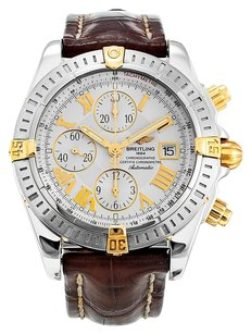 Breitling BREITLING CHRONOMAT EVOLUTION B13356 GOLD AND STEEL MEN'S WATCH