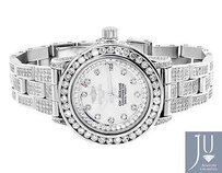 Breitling Ladies Breitling Aeromarine Mop Colt Oceane Diamond Watch A77387 13.5 Ct