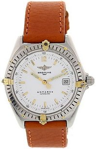 Breitling Mens Breitling Antares Stainless Steel Watch B10048