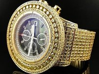 Breitling Mens Breitling Super Avenger Canary Diamond Watch Ct