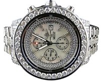Breitling Mens Breitling Super Avenger Full Diamond Watch Ct