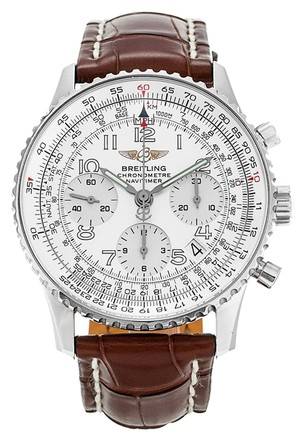 Preload https://item3.tradesy.com/images/breitling-silver-white-navitimer-a23322-stainless-steel-men-s-watch-5970892-0-0.jpg?width=440&height=440