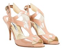 Brian Atwood Patent Pink Pumps