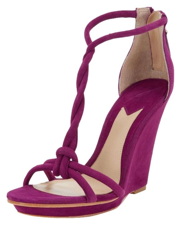 Brian Atwood Wedge Platform Sandals w/ Tags buy cheap 2014 newest discount footaction websites cheap online purchase online MYSs7q