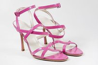 Brian Atwood Hot Strappy Pink Sandals