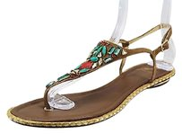 Brian Atwood Womens brown Sandals