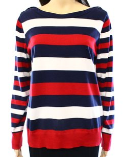Brooks Brothers 100% Cotton Boat Neck Sweater