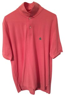 Brooks Brothers Polo Shirt Button Down Shirt Pink