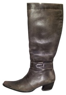 Other Brown acid wash Boots