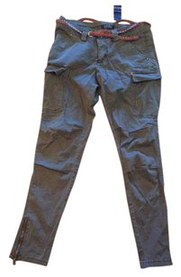 Buffalo David Bitton Cargo Cargo Pants Army green