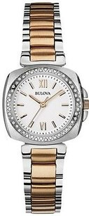 Bulova Bulova Diamond Accent Two-tone Ladies Watch 98r206