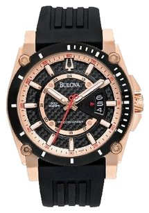 Bulova Bulova Men's 98B152 Precisionist Rubber Strap Watch