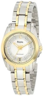 Bulova Bulova Womens 98p129 Precisionist Longwood Ion Plated Watch