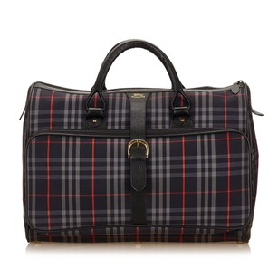 Burberry 7bbudb005 Blue Travel Bag