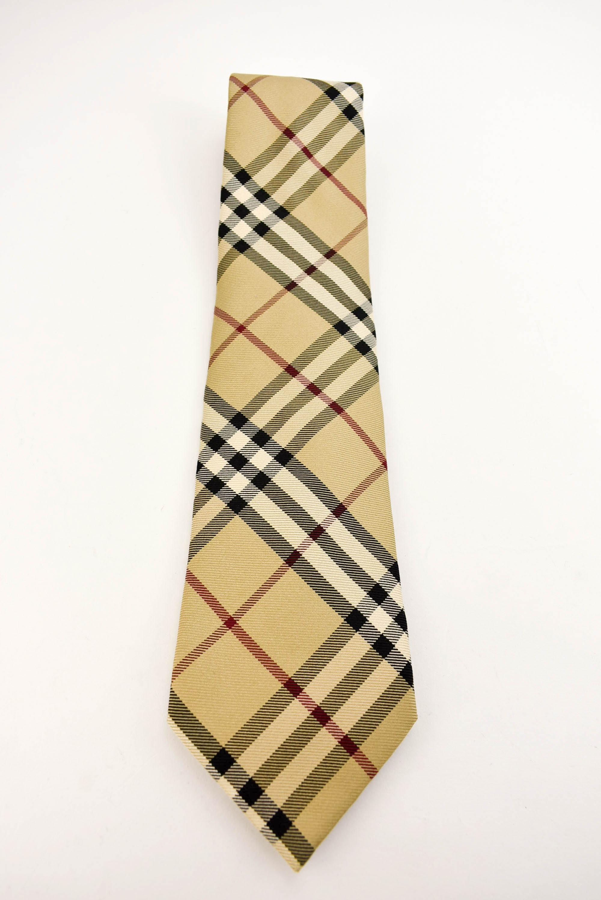 d066d1ef47b0 ... discount code for burberry beige nova check 100 silk tie 60f09 252d4 ...