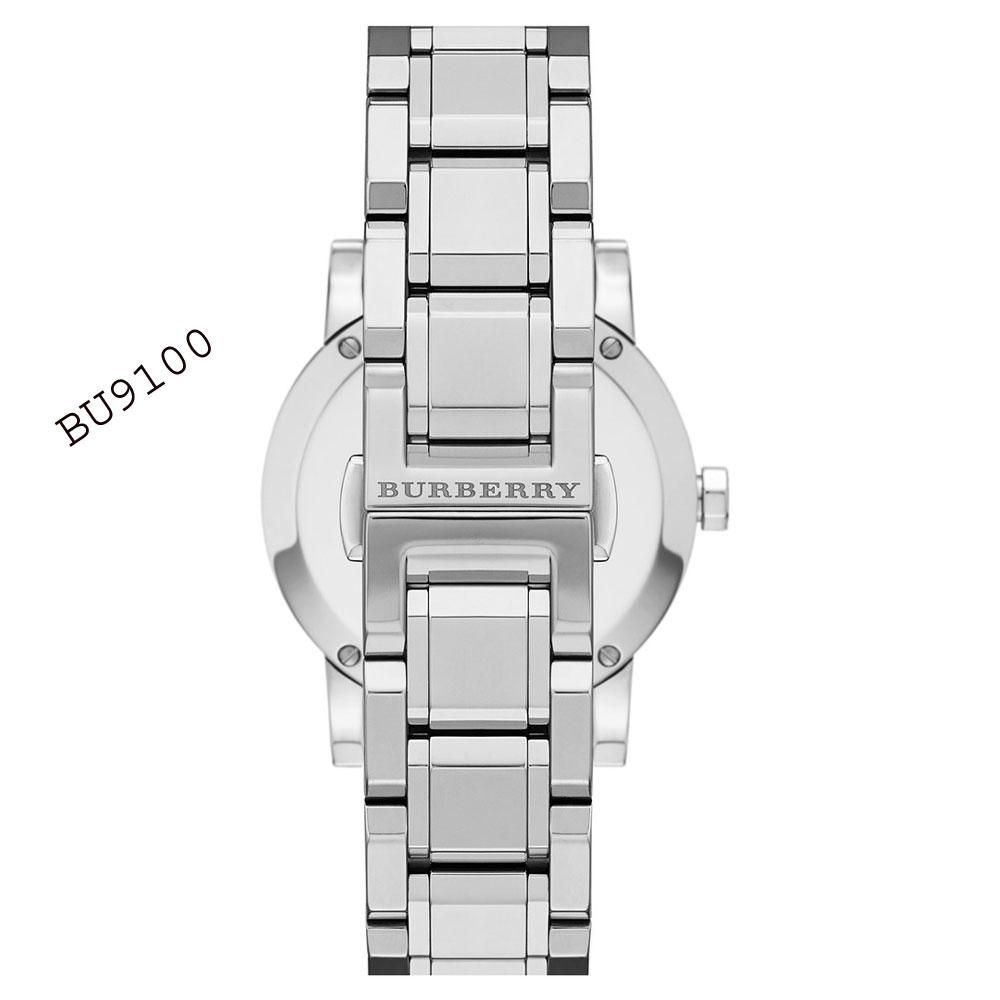 burberry 34mm stainless steel watch