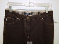 Burberry Denim Italy Boot Cut Jeans