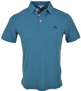Burberry Brit Men's Polo T Shirt Blue