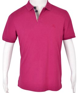 Burberry Brit Men's Polo T Shirt Pink