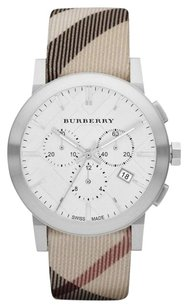 Burberry BU9357 The City Nova Check Strap Chronograph Watch