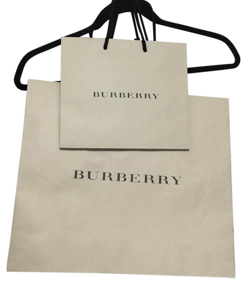 Burberry Paper Material Shopping Bag