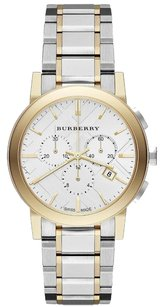 Burberry Burberry the City BU9751 Two Tone Stainless Steel Chronograph Watch