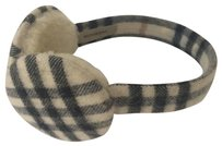 Burberry Check Earmuffs