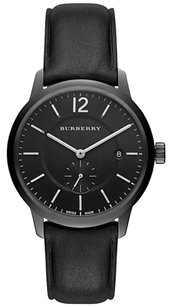 Burberry Classic BU10003 Black Leather Check Mens Watch
