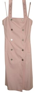 Burberry short dress Baby Pink on Tradesy