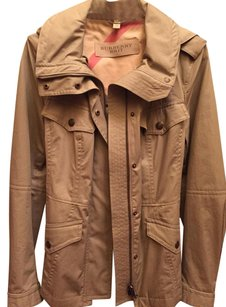 Burberry London Vintage Trench Trench Parka Trench Coat