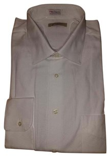 Burberry Mens Dressshirt Button Down Shirt White