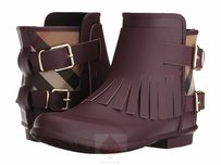 Burberry Oxblood (Authentic Burberry Rainboots) Boots