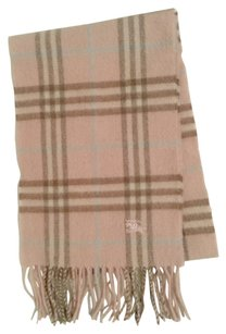 Burberry Pink Burberry Children's Scarf