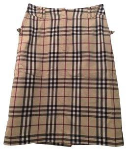 Burberry Skirt Plaid