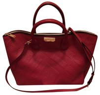 Burberry Tote in Military Red