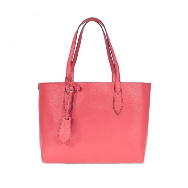 burberry red reversible leather tote from jacquestine on