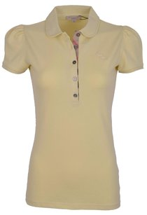 Burberry Women's Polo T Shirt Yellow