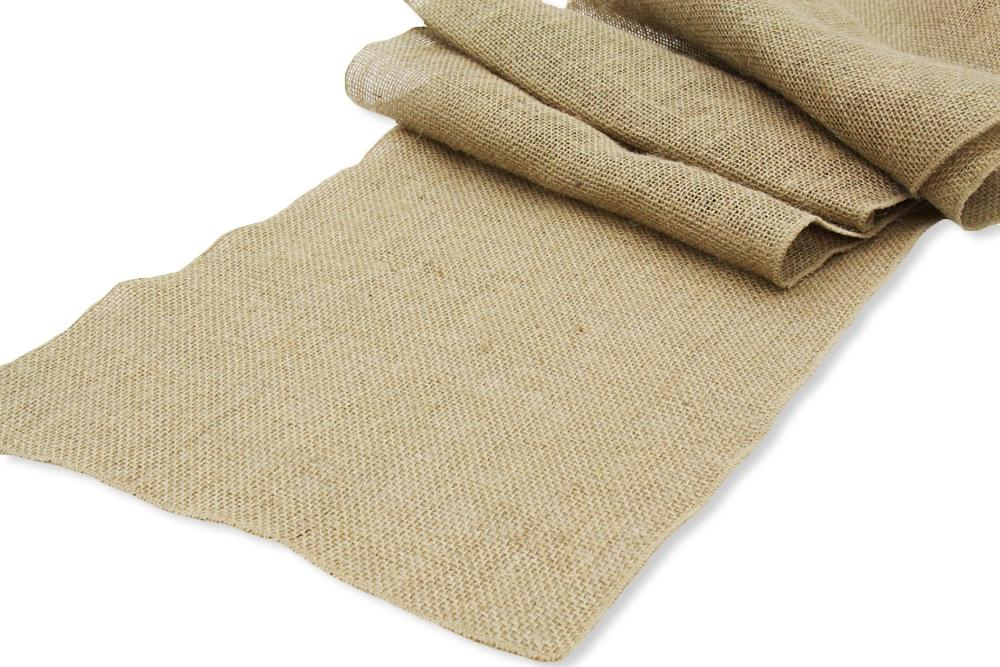 Burlap 10 Extra Wide Table Runners 18. 123