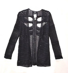 Burning Torch Cut Out Sweater