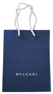 BVLGARI Shopping Shopping Tote in dark blue