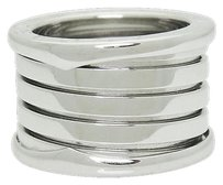 BVLGARI Bvlgari Bulgari B. Zero1 18k White Gold Band Ring R721