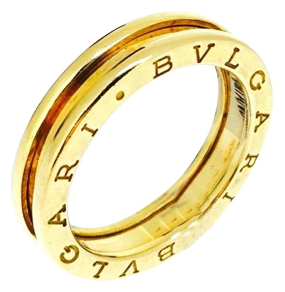 bvlgari bzero1 18k yellow gold 1 band ring an852260