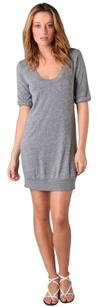 C&C California short dress Gray Scoop Neck on Tradesy