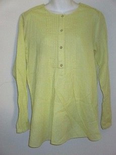C. Wonder Every Direction Pleated Top Yellow white